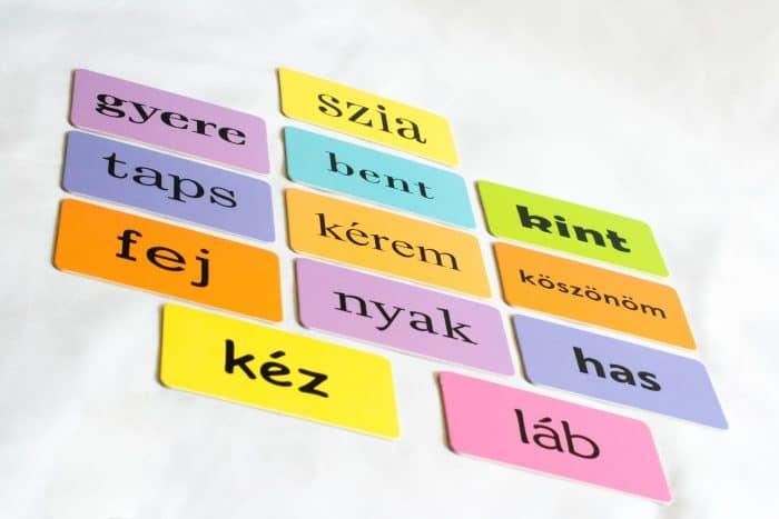 Játékcsomag- egyedi mondókával