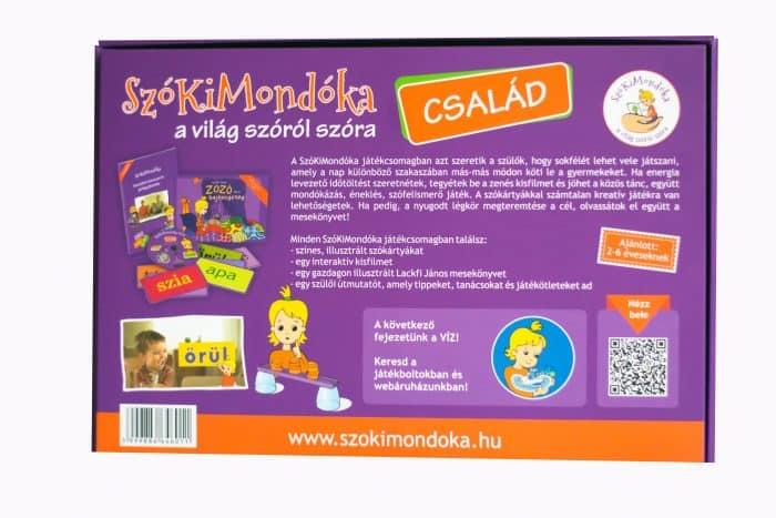 Beszédfejlesztő játékcsomag
