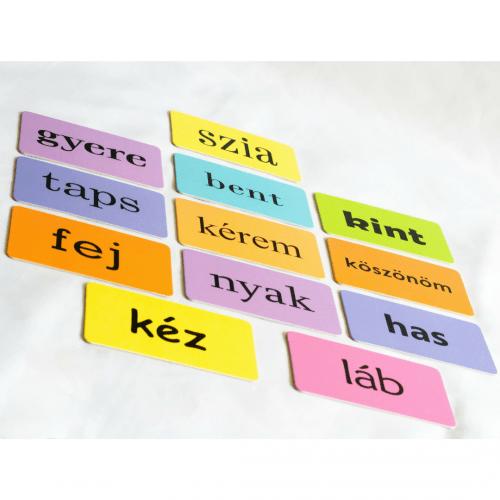 szókártyák