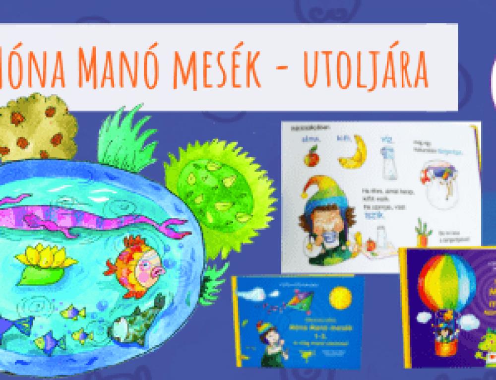 Móna Manó mesék – a SzóKiMondóka első mesekönyvei